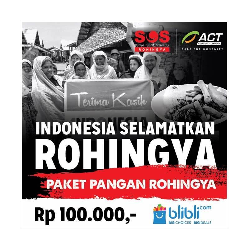 ACT - Pangan untuk Rohingya