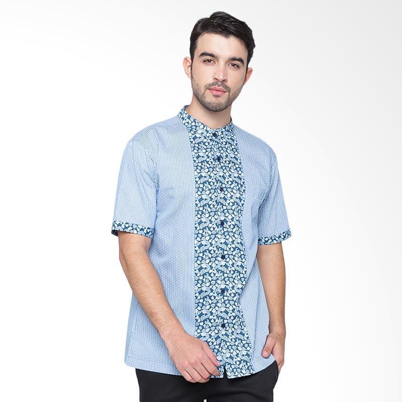 A&D Fashion Mens Koko Shirt - Blue Ms 731b