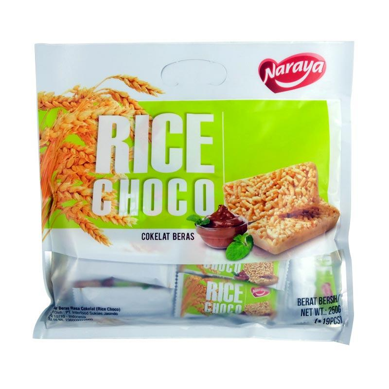 Naraya Rice Choco Sereal Beras Rasa Coklat [250 g]