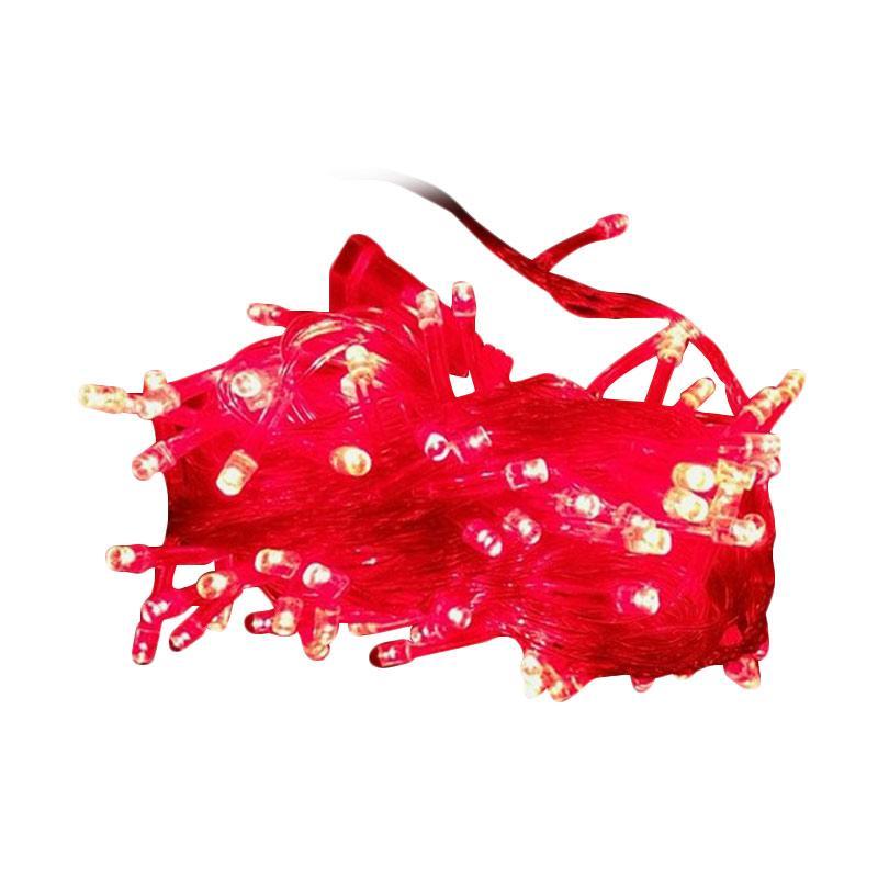 Solidex Shop Lampu Natal Led - Merah