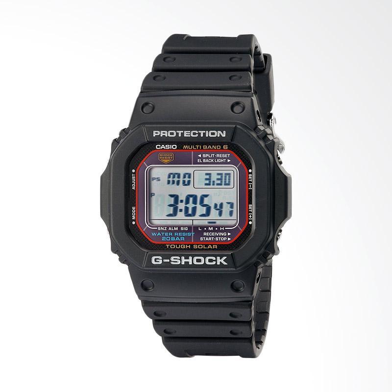 CASIO Shock Multi Band Atomic Digital Sport Jam Tangan Pria GWM5610-1 G