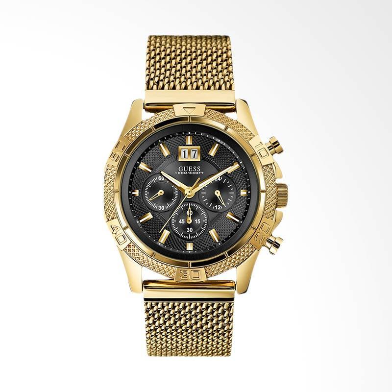 GUESS Men Jam Tangan Pria - Gold U0205G1