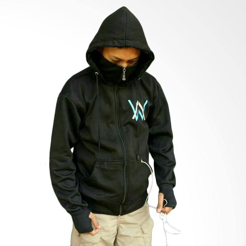 YM Ninja Logo Turkish Jaket Alan Walker - Hitam