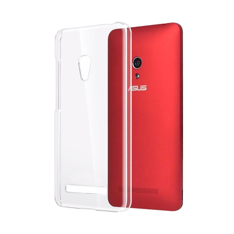 Ume Ultrathin Silicone Jelly Softcase Casing for Asus Zenfone 6 A600CG - Transparan