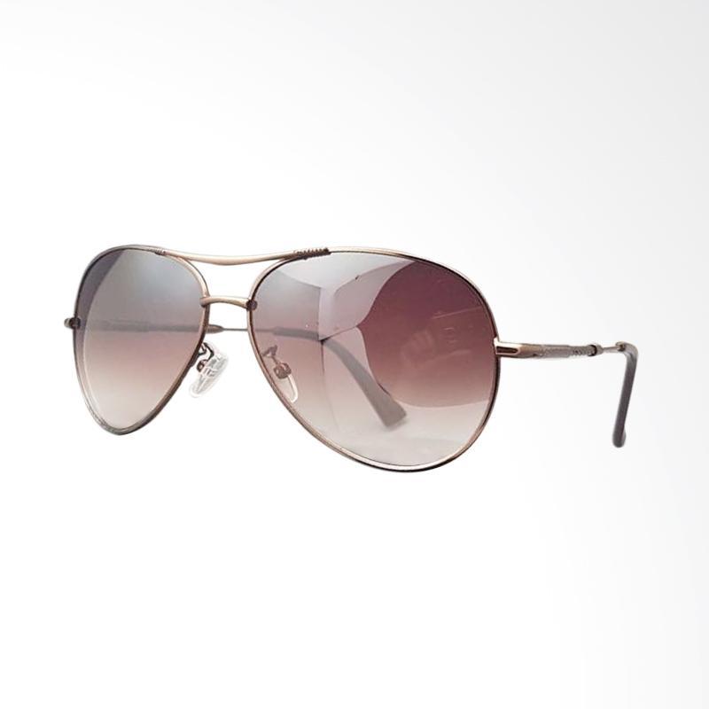 Bawor Distro 86 Roberto Cavalli Full Pilot Set Sunglasses - Brown [58 mm]
