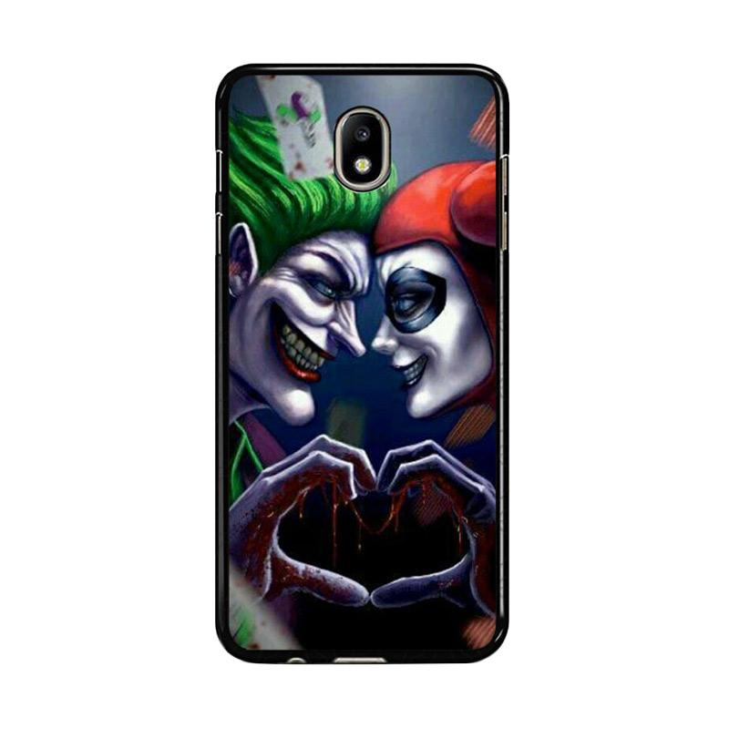 Flazzstore Harley Quinn And Joker Love F0447 Custom Casing for Samsung Galaxy J7 Pro 2017