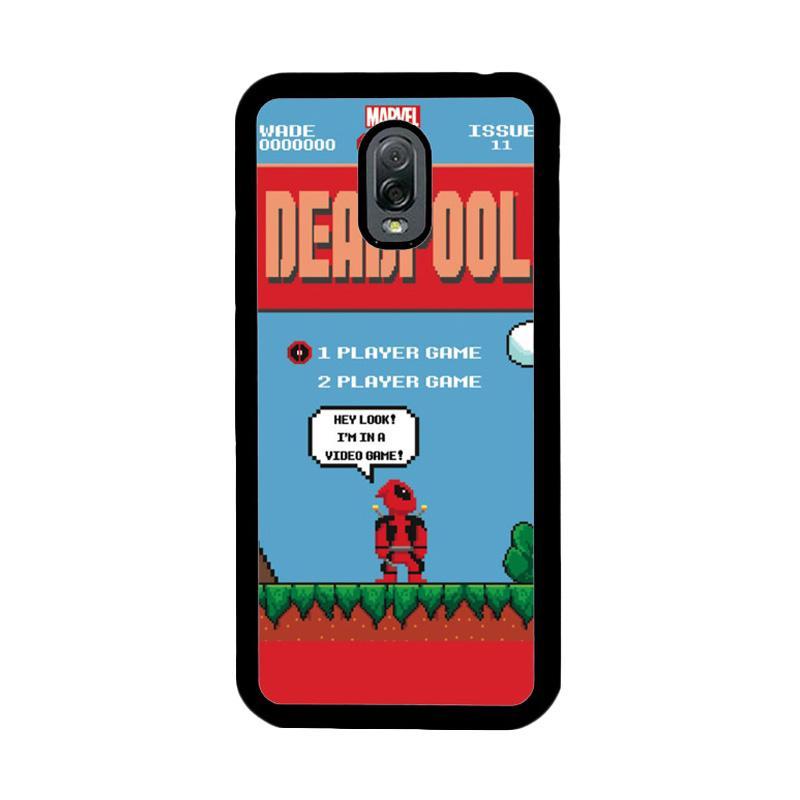 Flazzstore Deadpool Mario Bross Z1218 Custom Casing for Samsung Galaxy J7 Plus