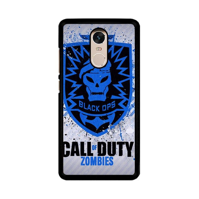 Flazzstore Call Of Duty Black Ops Zombie Logo Z1194 Custom Casing for Xiaomi Redmi Note 4 or Note 4X Snapdragon Mediatek