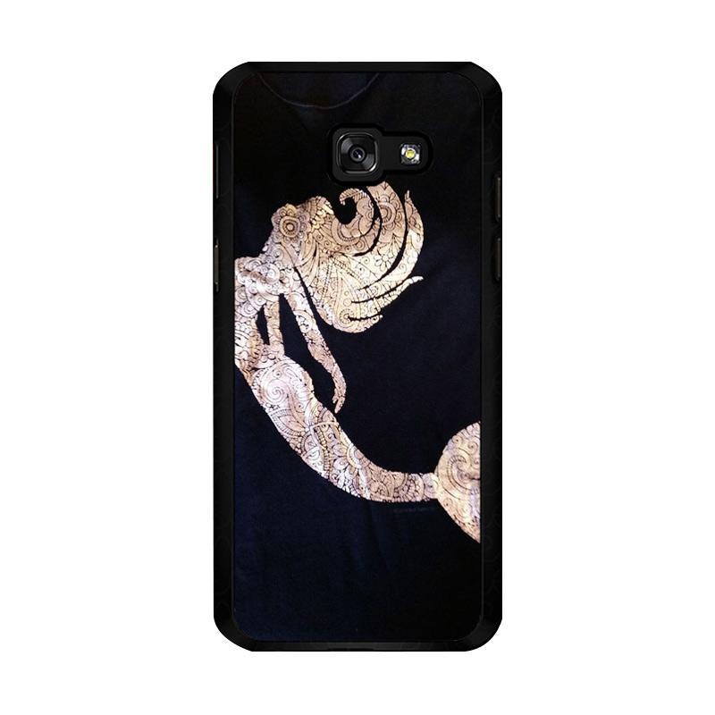 Flazzstore Mermaid Batik O0085 Custom Casing for Samsung Galaxy A5 2017