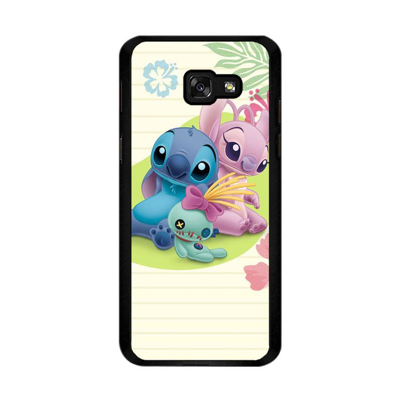 Flazzstore Stitch Disney O0413 Custom Casing for Samsung Galaxy A5 2017