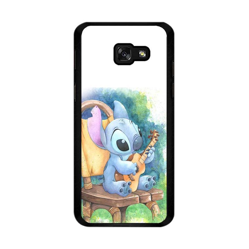Flazzstore Ukulele Stitch O0414 Custom Casing for Samsung Galaxy A5 2017