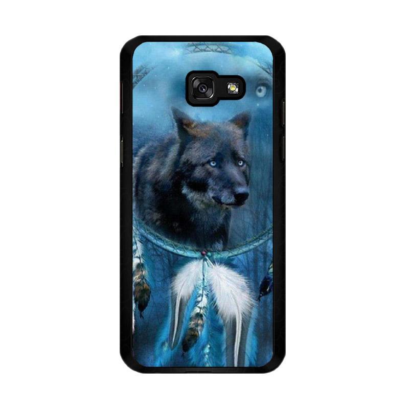 Flazzstore Wolf Dream Catcher F0247 Custom Casing for Samsung Galaxy A5 2017