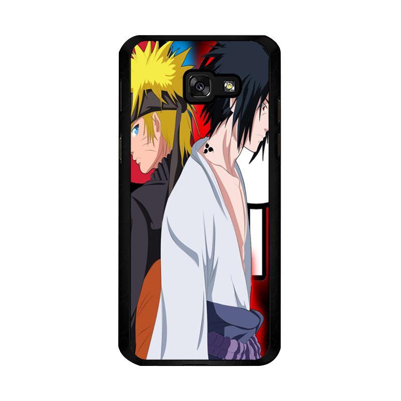 Flazzstore Sasuke Uchiha Vs Naruto Uzumaki Shippuden Z0686 Custom Casing for Samsung Galaxy A5 2017