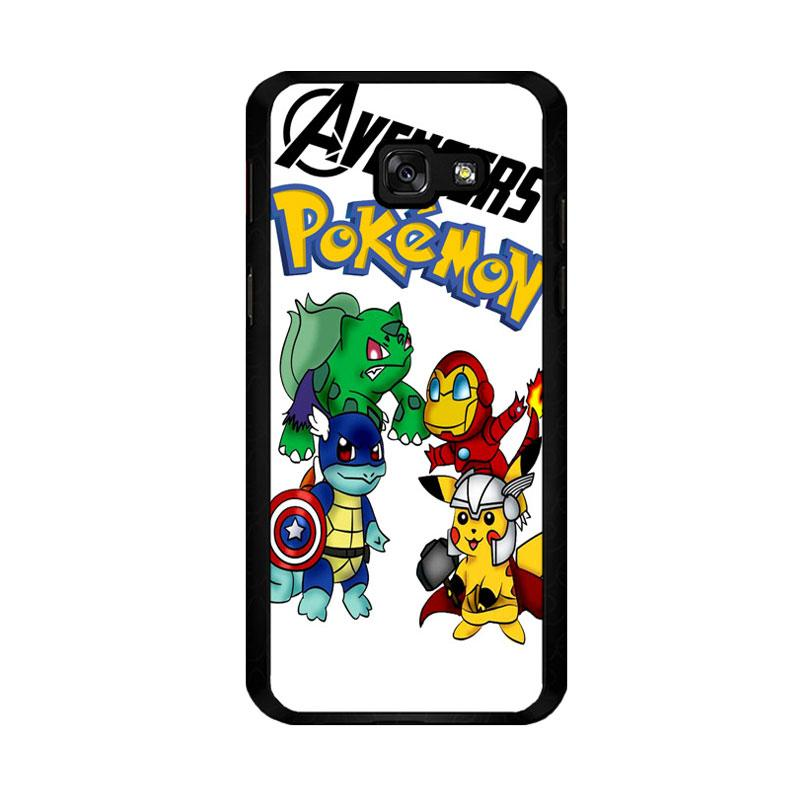 Flazzstore Pokemon Avengers Z0036 Custom Casing for Samsung Galaxy A5 2017