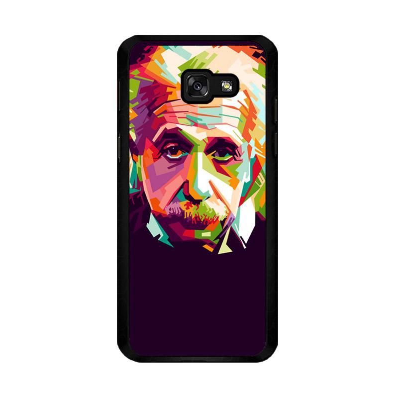 Flazzstore Albert Einstein In Wpap Art Z0318 Costum Casing for Samsung Galaxy A5 2017
