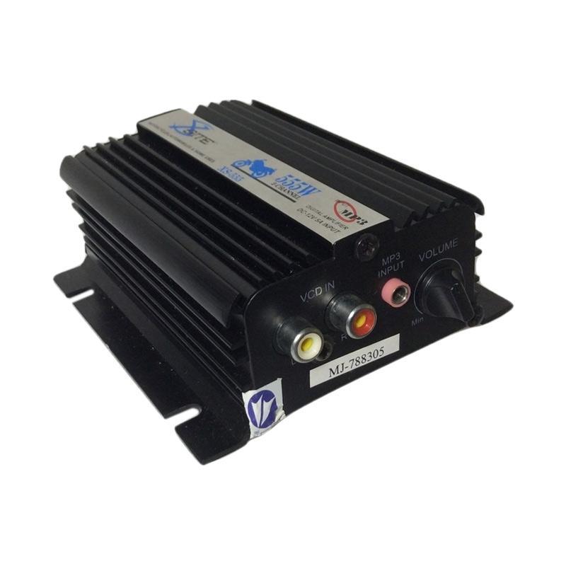 OTOmobil Xsite 555W Power Amplifier Mini Input Jeck MP3