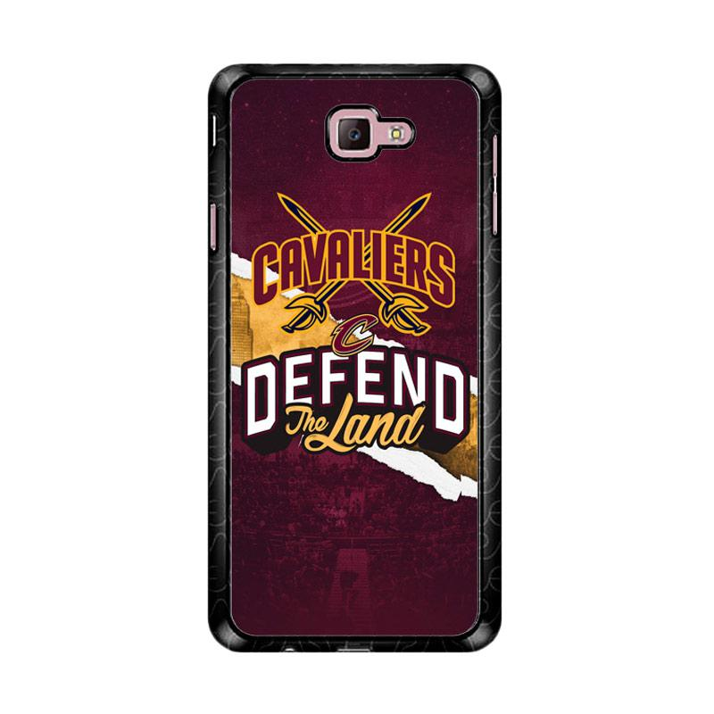 Flazzstore Defend The Land Cavaliers Playoff Z4806 Custom Casing for Samsung Galaxy J7 Prime