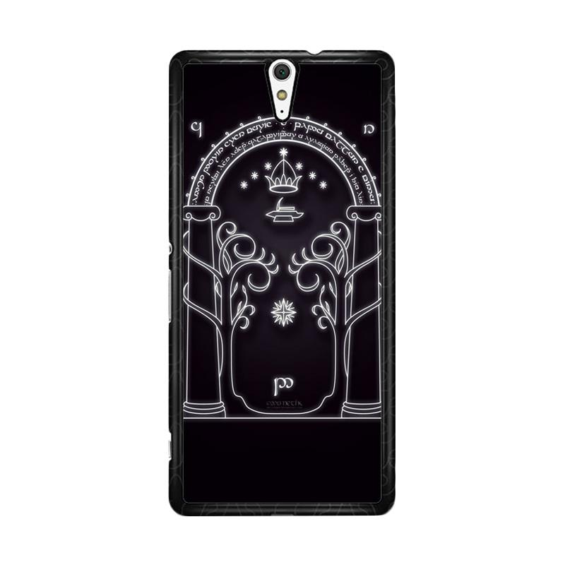 Flazzstore Magic Gate Of Moria Lord Of The Ring The Hobbit Custom Casing for F0201 Sony Xperia C5 Ultra