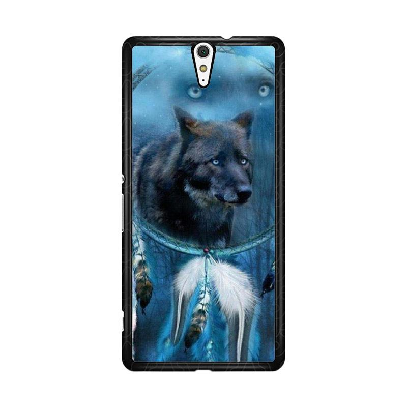 Flazzstore Wolf Dream Catcher F0247 for Sony Xperia C5 Ultra