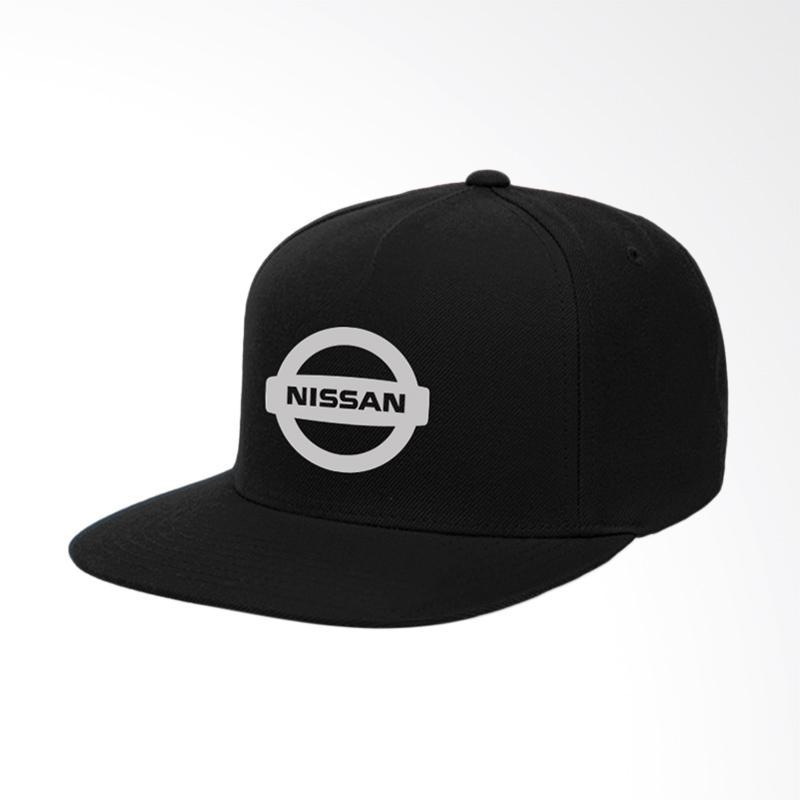 Jual IndoClothing Nissan Topi Snapback - Hitam Online - Harga   Kualitas  Terjamin  aed55f92fb