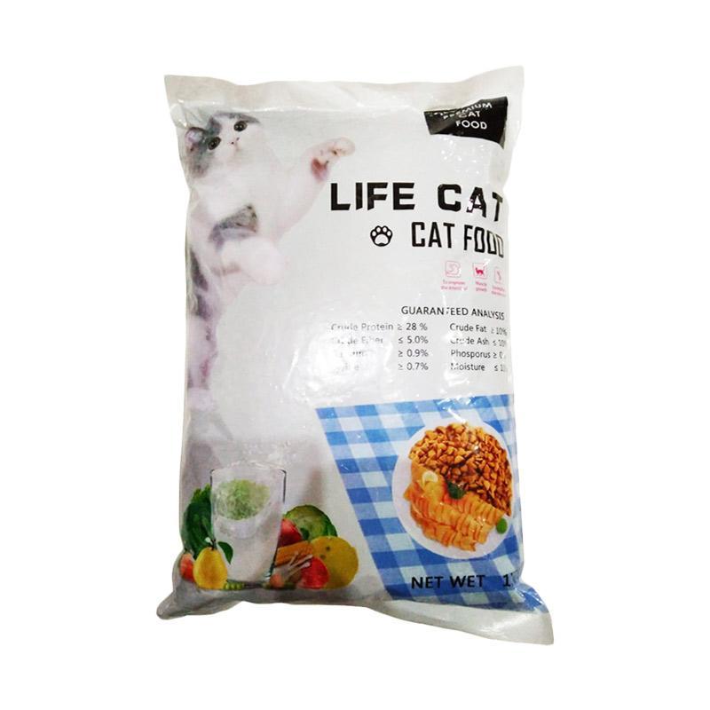 LIFE CAT Makanan Kucing 1 kg