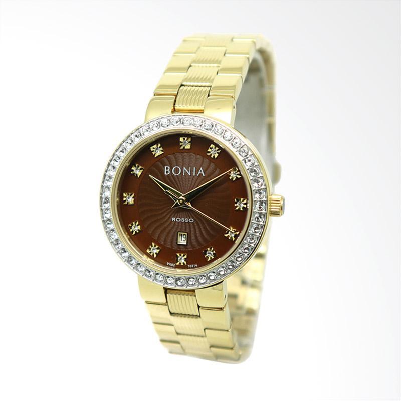 Bonia BNB10314-2247S Jam Tangan Wanita - Gold
