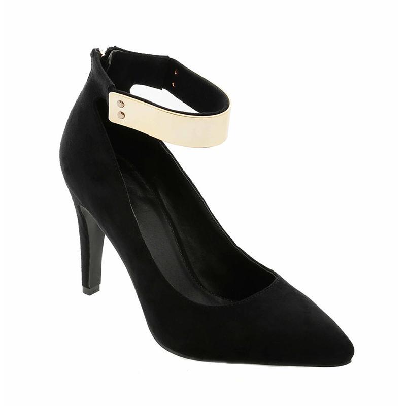 GatsuOne 3 Gwenda Heels - Black