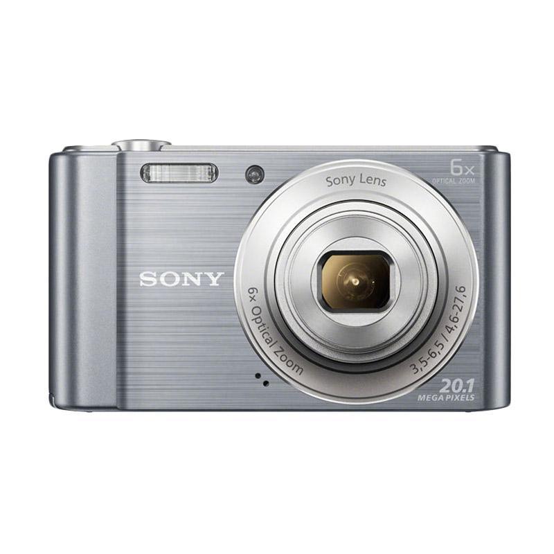 Sony Cybershot DSC-W810 Silver (Garansi Resmi)