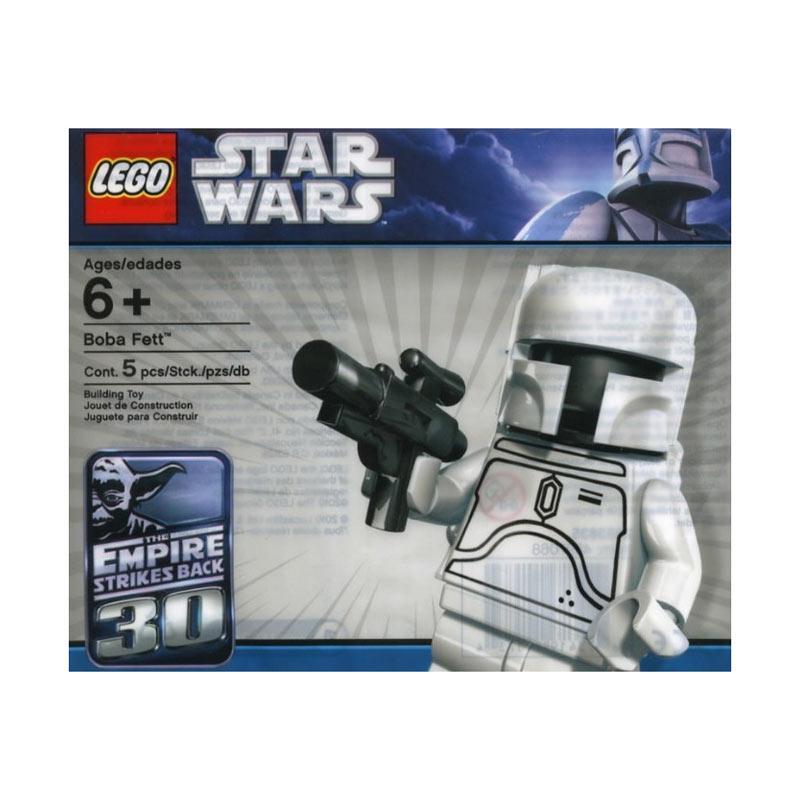 LEGO 2853835 Star Wars White Boba Fett Mini Blocks