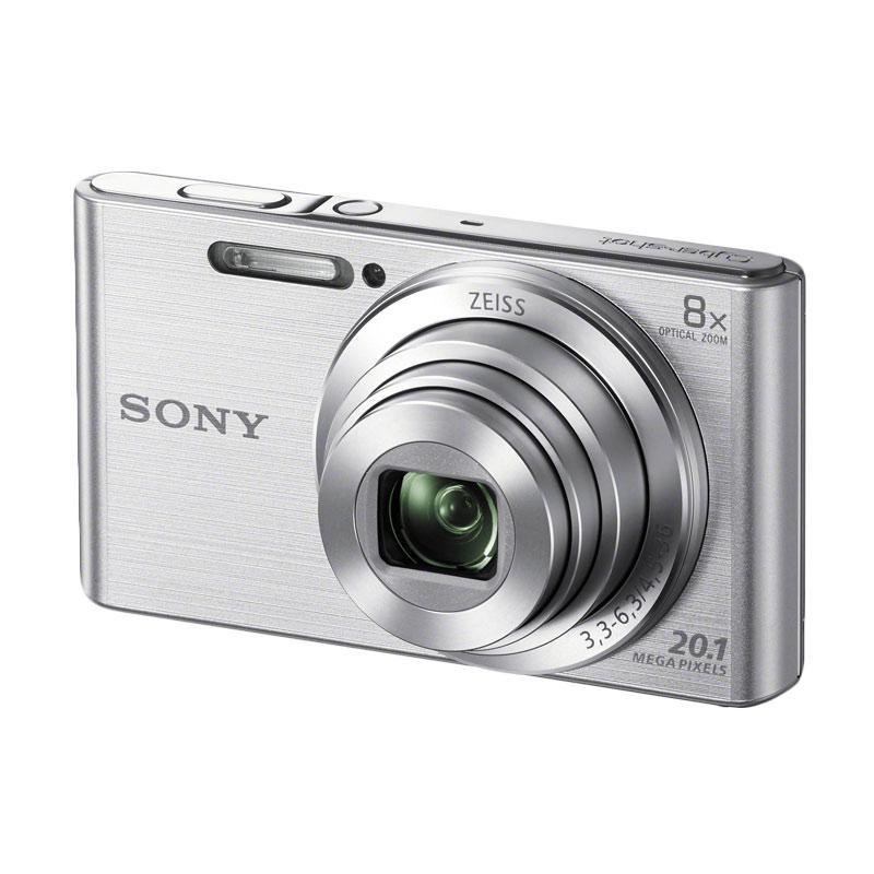 SONY W830 Compact Camera - Silver
