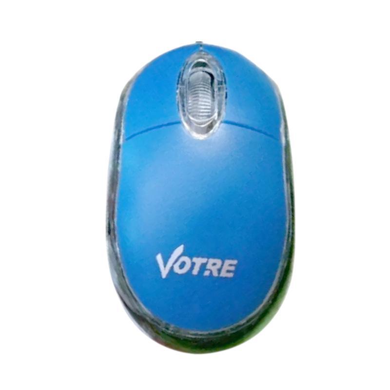 harga Votre USB Optic Mouse - Biru Blibli.com