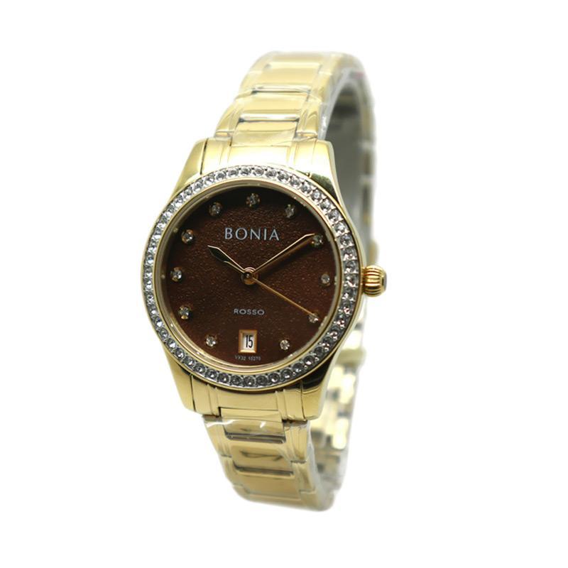 Bonia BNB10270-2247S Jam Tangan Wanita - Gold