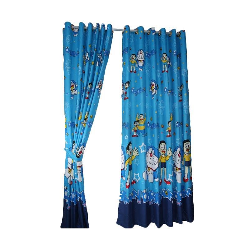 Jual Gorden Karakter Doraemon Biru Katun Tirai Jendela Pintu Minimalis Murah Dekorasi Kamar Tidur Anak Online November 2020 Blibli