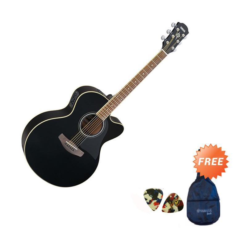 harga Yamaha CPX500II Guitar Akustik - Black + Free Softcase dan 2 Guitar Pick Blibli.com