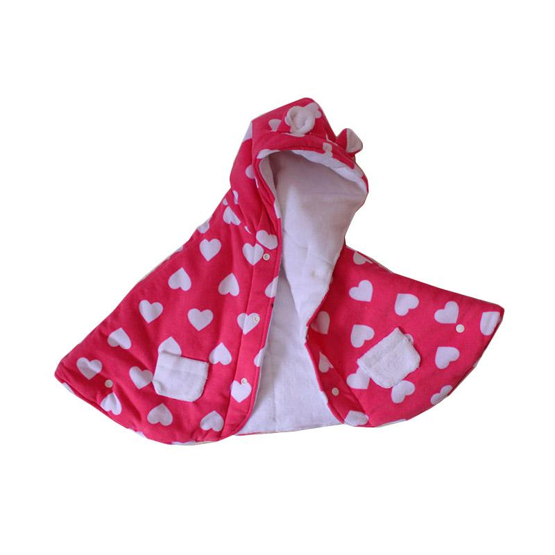 Babycape Love Bibbo Baby Cape - Pink