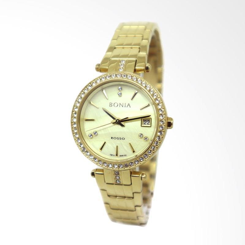 Bonia BNR102-2222S Jam Tangan Wanita - Gold