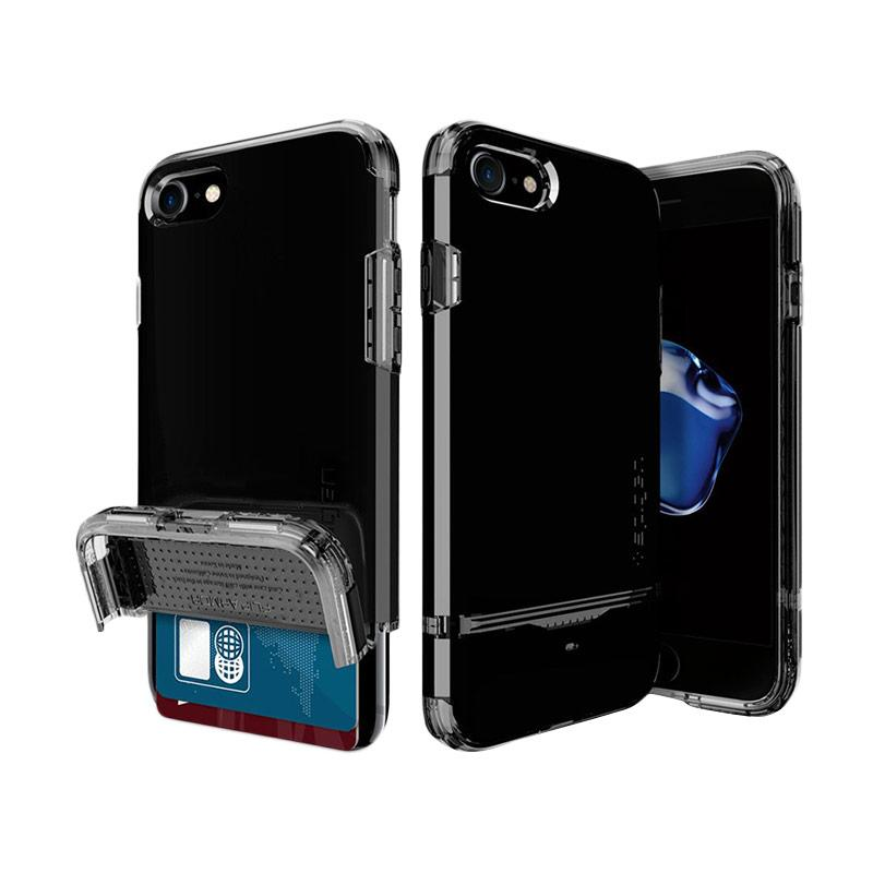 Spigen Flip Armor Casing for iPhone 7 - Jet Black