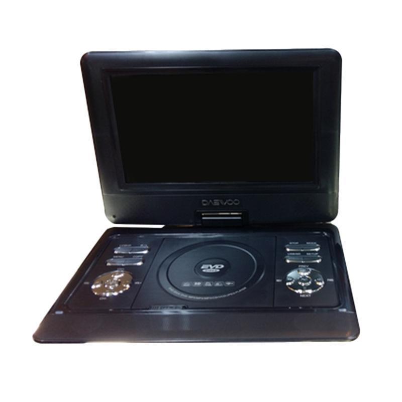 Daewoo Dvd Portable - Hitam [13.8 Inch]