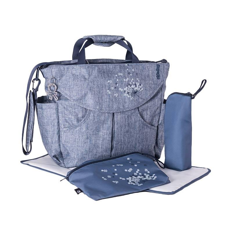 Okiedog Sumo Urban Diaper Bag - Jeans Blue