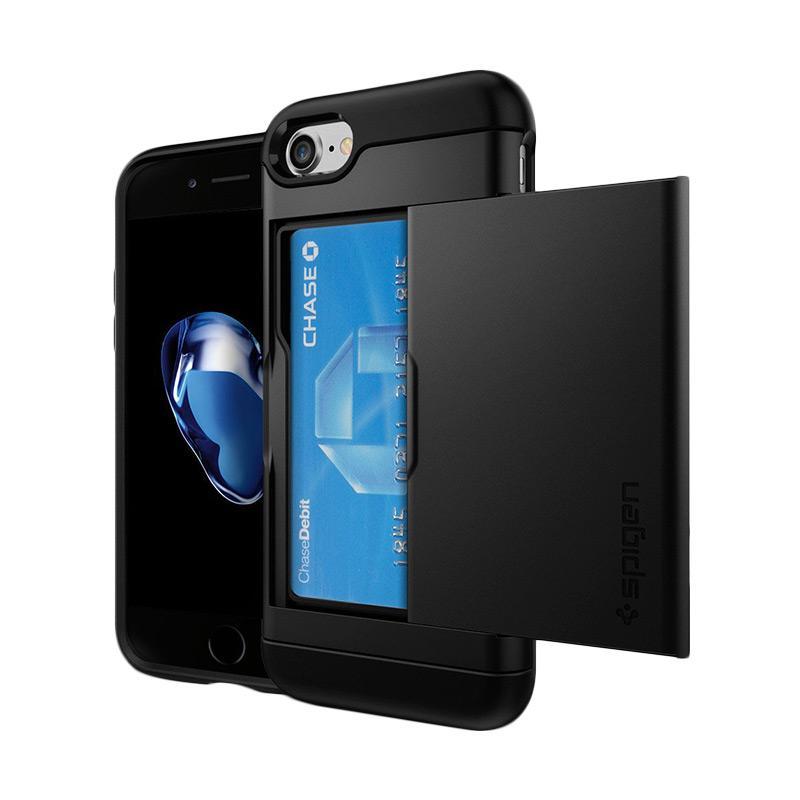 Spigen Slim Armor CS Casing for iPhone 7 - Black