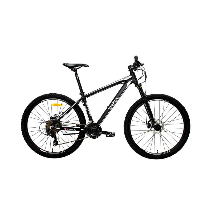 Thrill Cleave 2.0 Sepeda MTB - Black White [27.5x18AGMT]