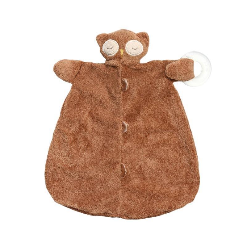 Angel Dear Teether Blankie Selimut Bayi - Owl