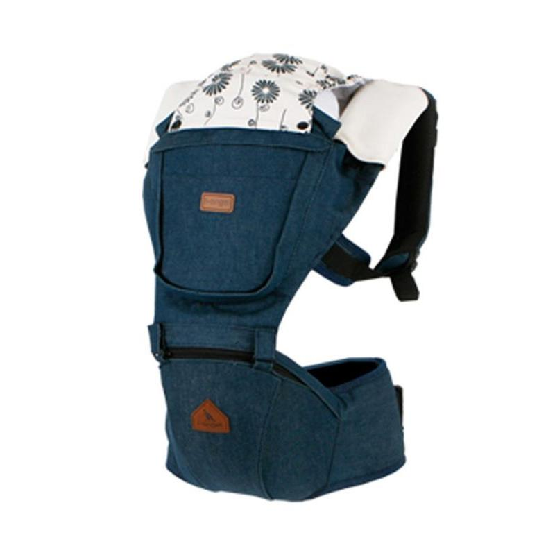 I-Angel Denim Solid Gendongan Bayi