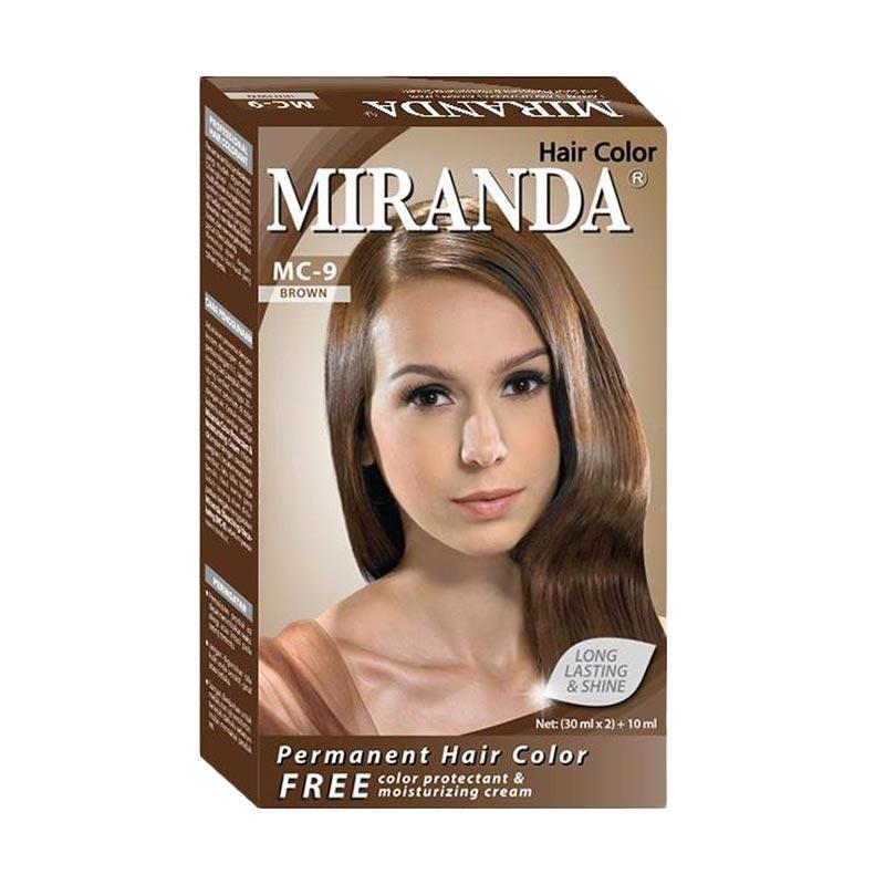 Miranda Hair Color Mc 9 - Brown [30 mL] Kosmetik