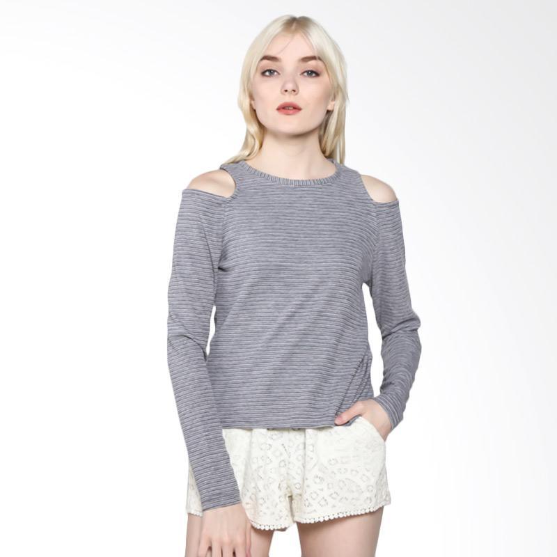 Rodeo Knitwear motif 817.0214.BLK Outwear Wanita - Black