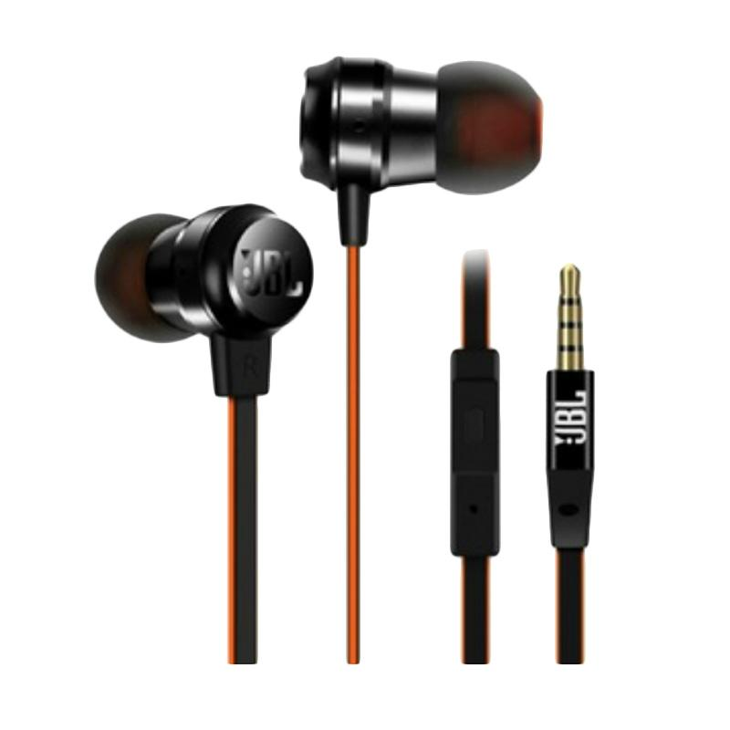 JBL T280A+ Stereo In-Ear Headphone - Hitam