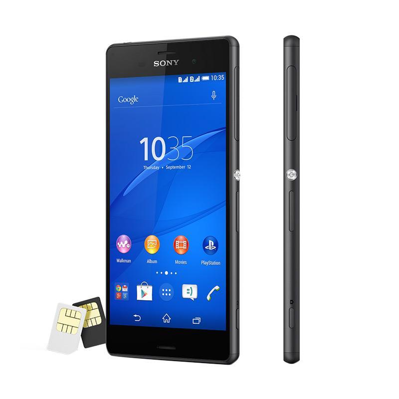 SONY Xperia Z3 Smartphone - Black [16GB/ RAM 3GB]