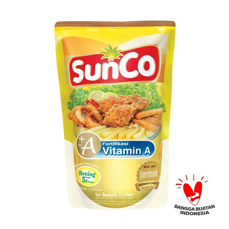 Sunco Minyak Goreng Pouch [2000 mL]