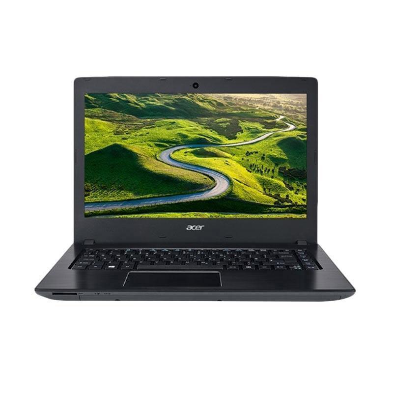 """Acer E5-475G Notebook [I3 6006U/ 4GB/ 500GB HDD/ GT940MX 2GB DDR5/ DOS/ 14""""] Grey"""