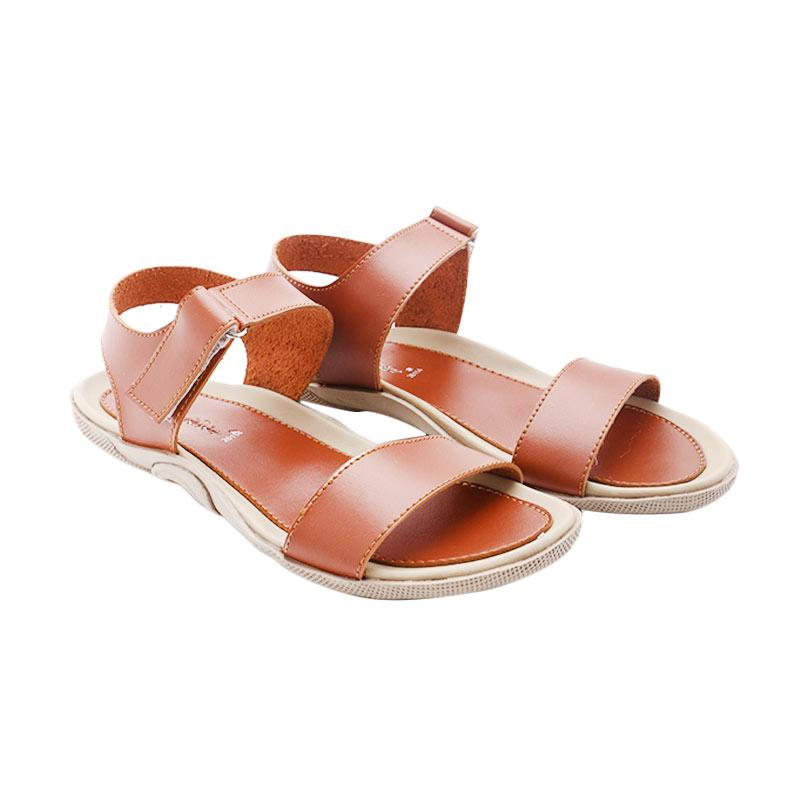 Dr Kevin 26114 Leather Sandals - Tan
